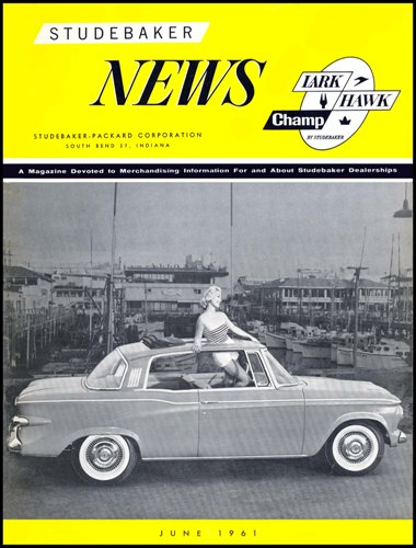 Studebaker News June 1961 cover photo