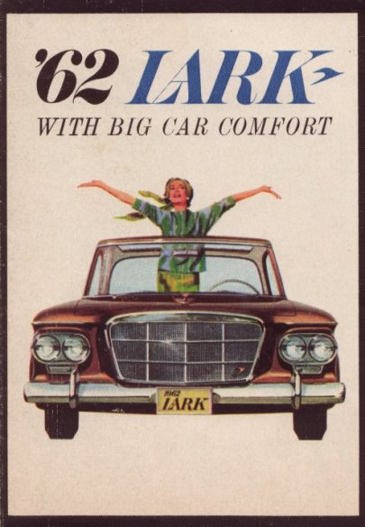 '62 Lark medium size brochure PD-62-09