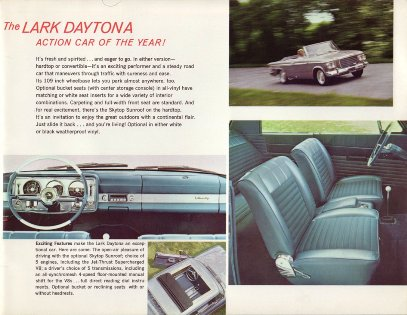 '63 Daytona factory brochure PD 63-14